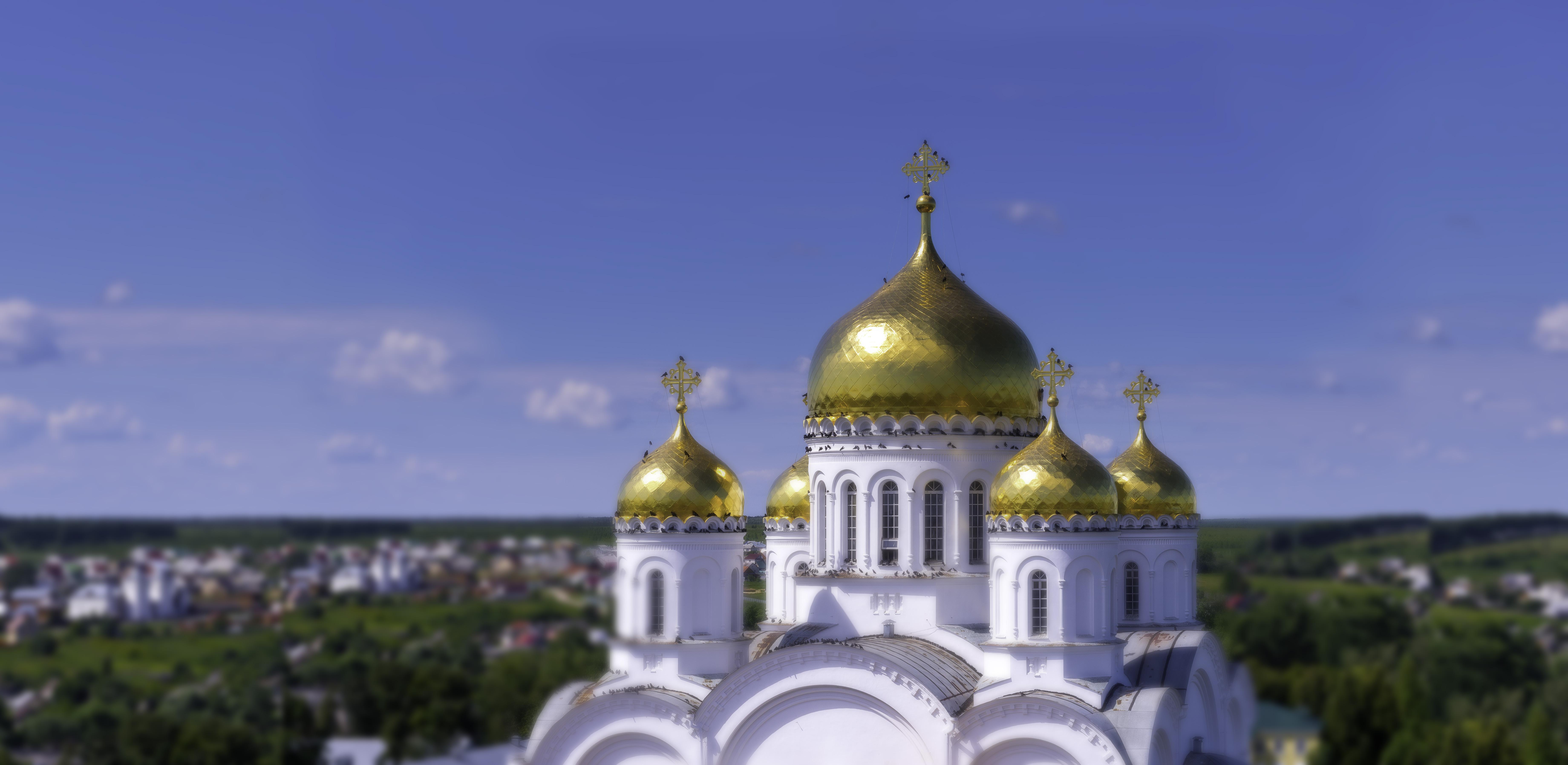 Купола Преображенского собора