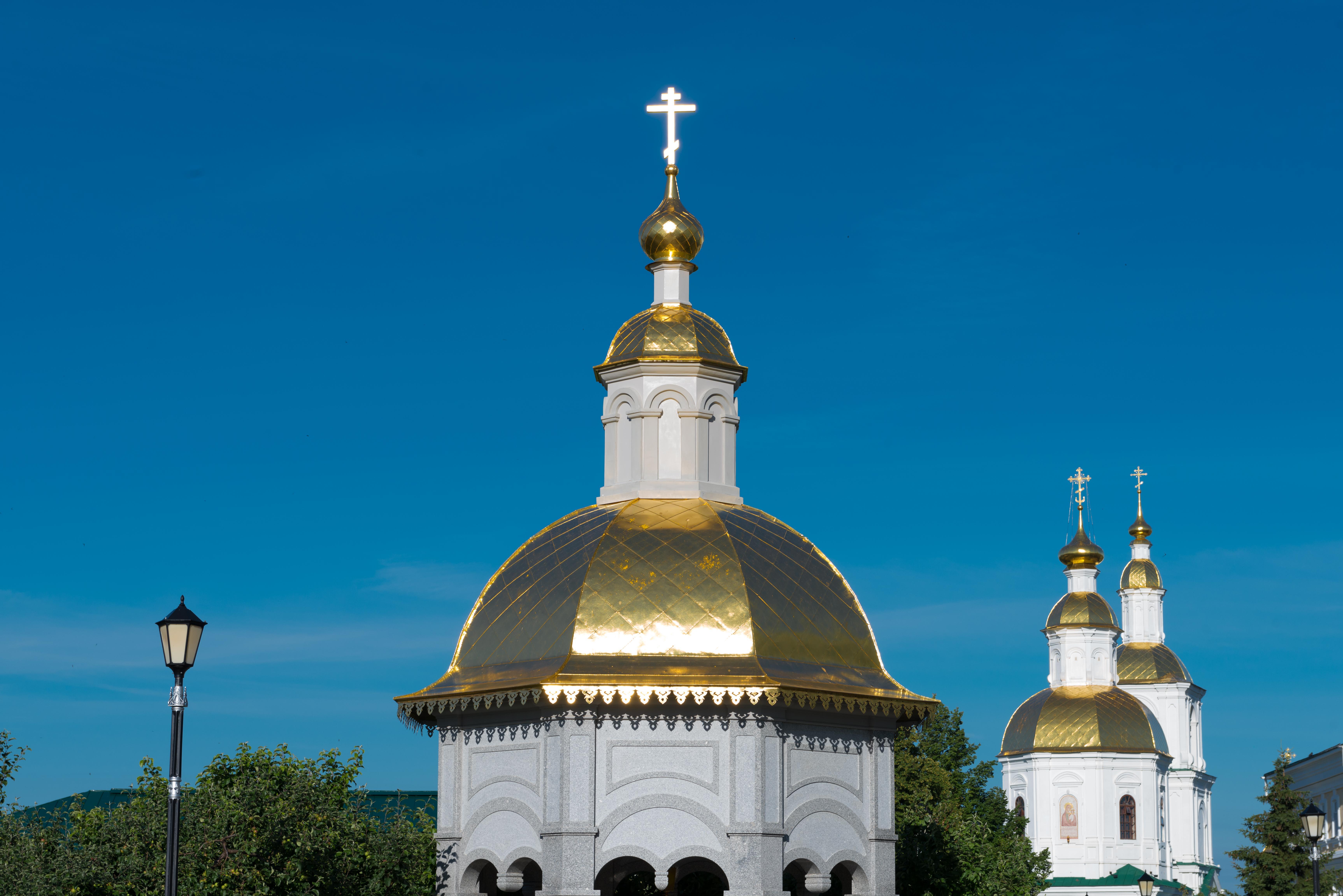 Купола Дивеевского монастыря