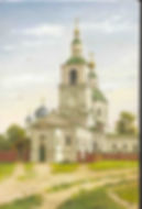 Храм Рождества Пресвятой Богородицы Дивеевского монастыря. Гравюра. Фильм о Дивеево