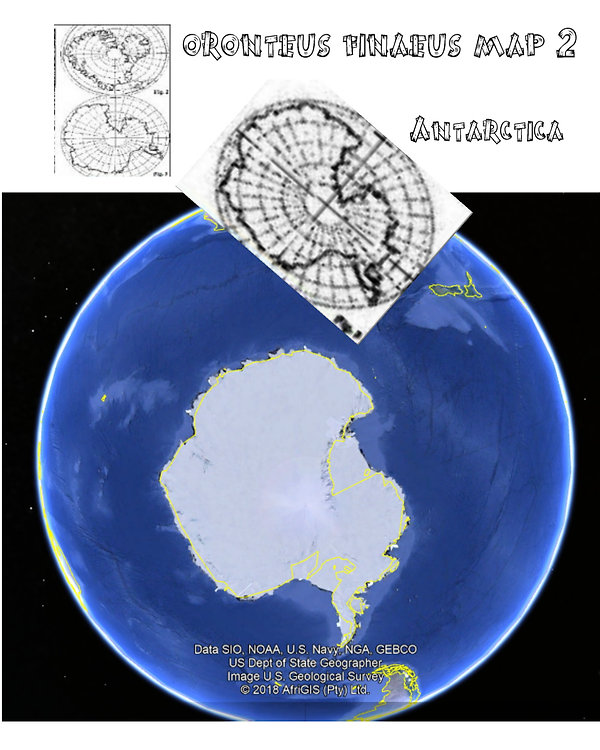 antarctic fineuous map google match no t