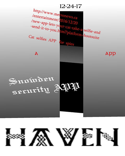 Snowden HAVEN APP android phones Laptop