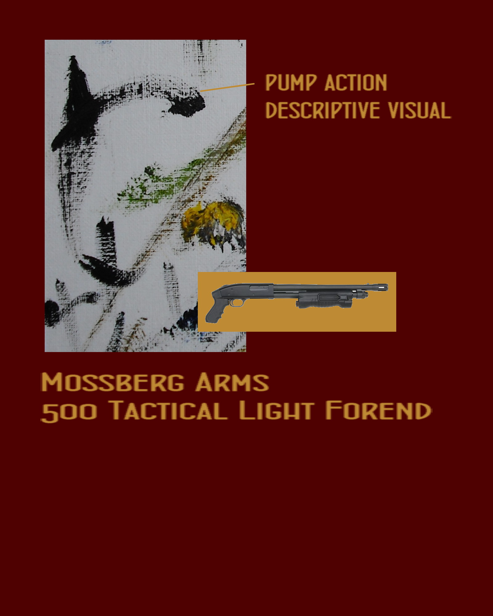 mossberg arms tactical light