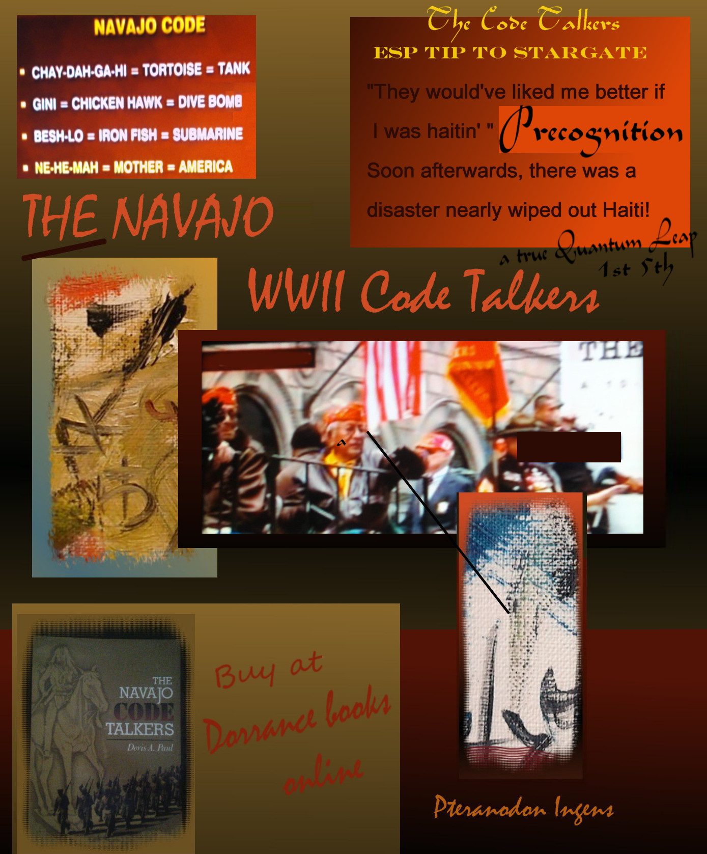 CODE TALKERS credit page