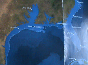 ice field melts florida sunk National Ge