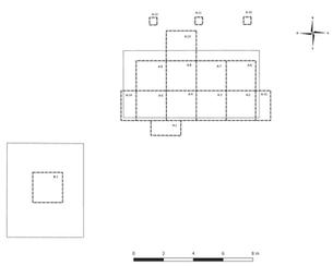 Excavaciones del Grupo 150 (Estructuras 150-1 y 150-2