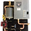 rms-9, assembled panel w/thermolec 9TMB boiler, radiant floor heat