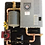 rms-6, assembled panel w/thermolec 6TMB boiler, radiant floor heat