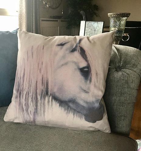Printed Cushion 'Amber'
