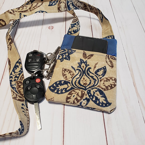 Essential Phone Crossbody bag, 4x6 inches, phone pouch, phone holder,