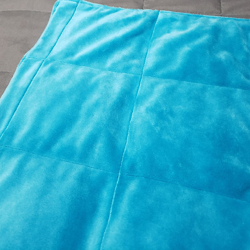 TURQUOISE Chenille , Your Choice Second Colour Poly Cotton, All Sizes and Weight