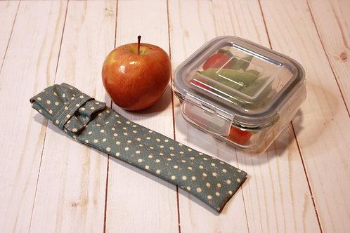 Cutlery or Straw Pouch, Cutlery or Straw Holder