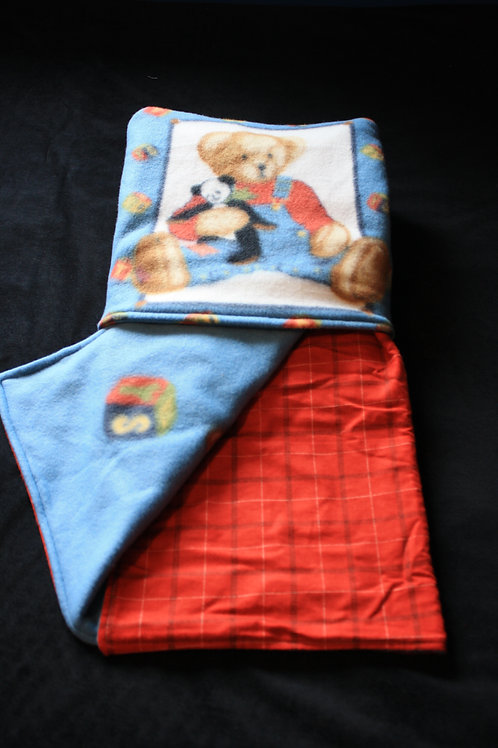 Quillow Blanket Teddy Bear that folds into a Pillow, kids blanket, child blanket