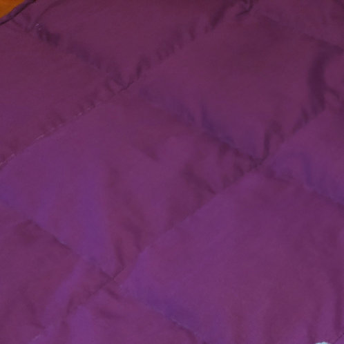 BRT PURPLE PolyCotton, Your Choice Second Color PolyCotton, All Sizes and Weight