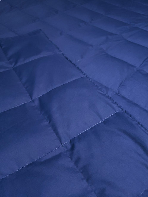 INDIGO Poly Cotton, Your Choice Second Colour Poly Cotton, All Sizes and Weight