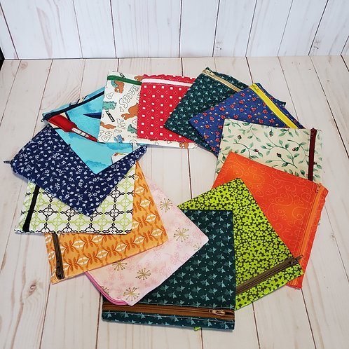Medium Zipper Snack Bags, Reusable Snack Bags, Sandwich Bags