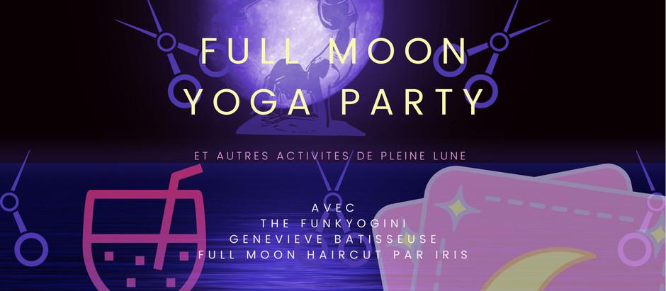 Venez tester les rituels de pleine lune ce mercredi à partir de 20h45 sur le parvis de la BNF!