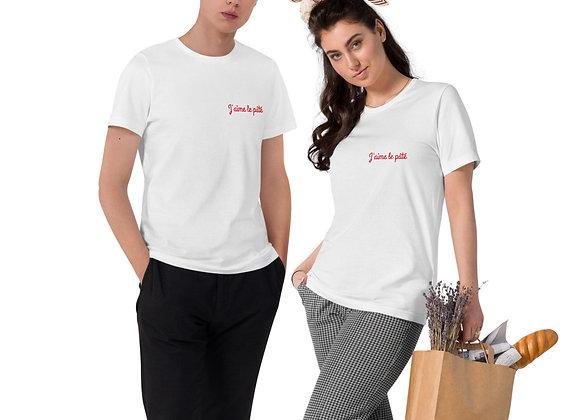J'aime le pâté ! Unisex Organic Cotton T-Shirt