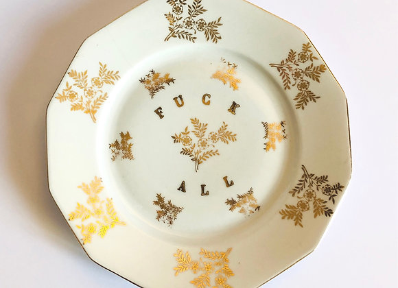 Assiette F*ck All Christmas Special