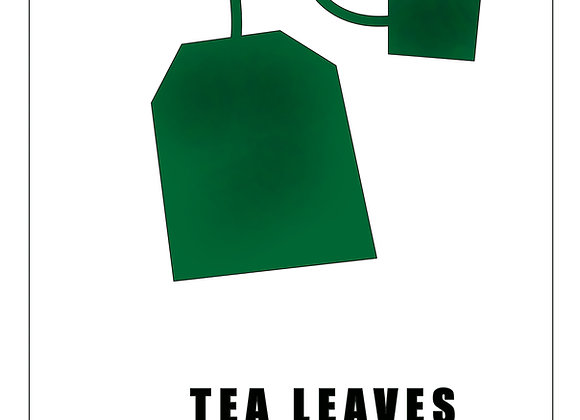 Coloriage Tea Leaves or You Leave
