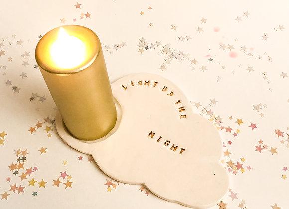 Bougeoir *Light Up the Night*