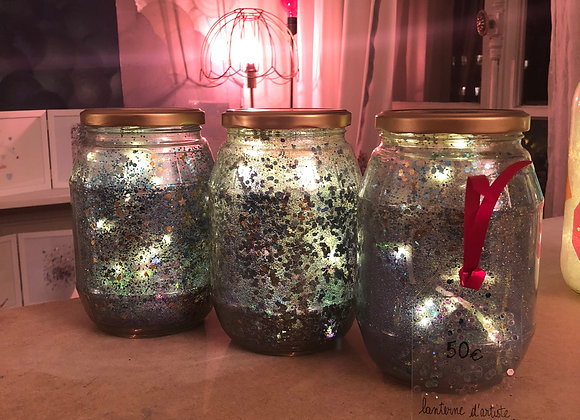 Lanterne de maison - Starry Night