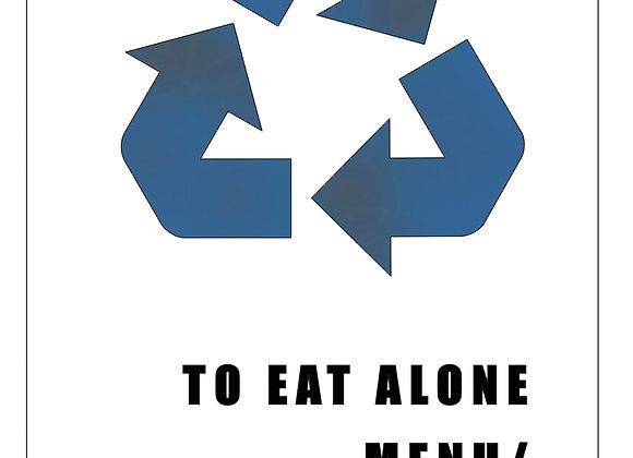 Menu: paper & Plastic