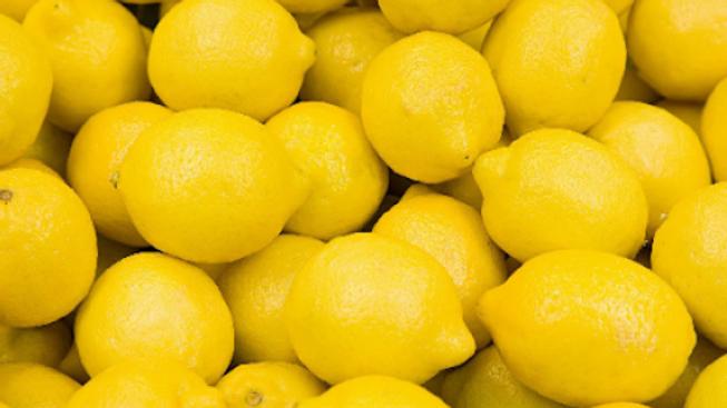 Citrons jaunes bio, origine Espagne - 500g