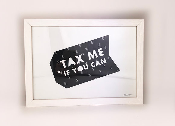 Tax Me If You Can - Artwork