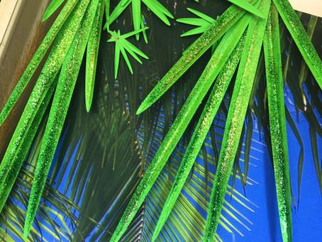 Handmade Lifelong Tropical Decoration
