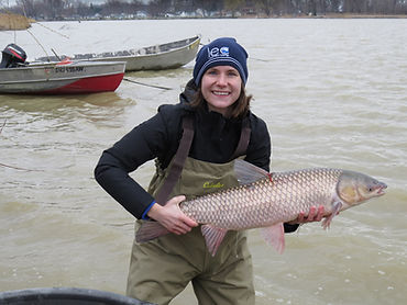 Holly Embke grass carp