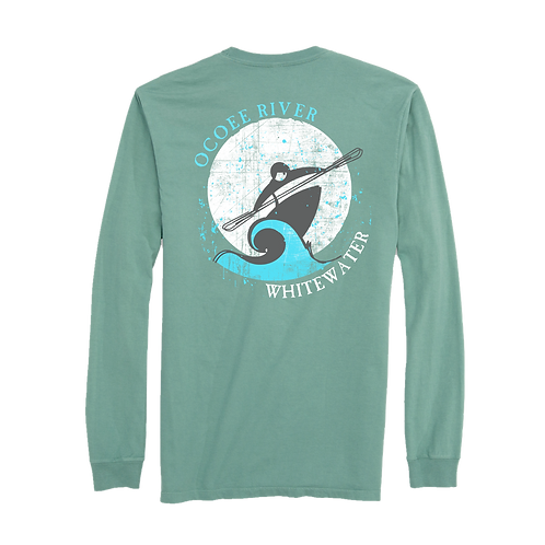 OCOEE RIVER KAYAK LONG SLEEVE TEE
