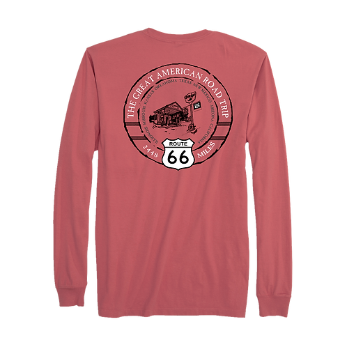 ROUTE 66 ICON LONG SLEEVE TEE