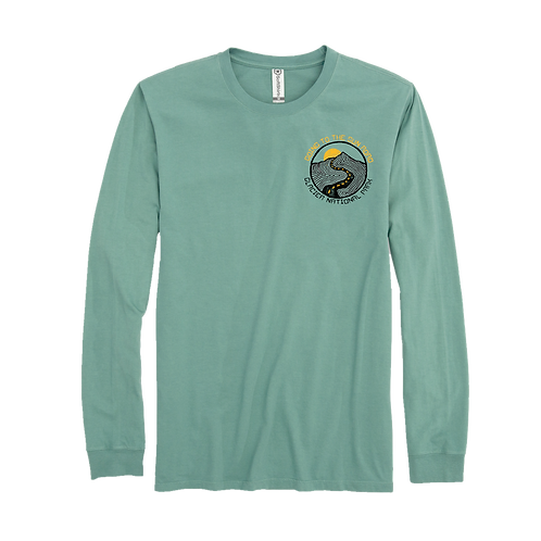 GOING TO THE ROAD LONG SLEEVE TEE