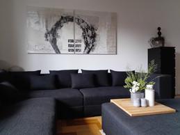 Sedací souprava v obývacím pokoji