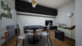 Interiérový designový návrh rekonstrukce starého dvoupokojového bytu. MINIMAL Concept