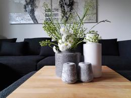 Detail dekorace v obývacím pokoji