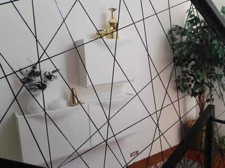 Provázkové interiérové zábradlí