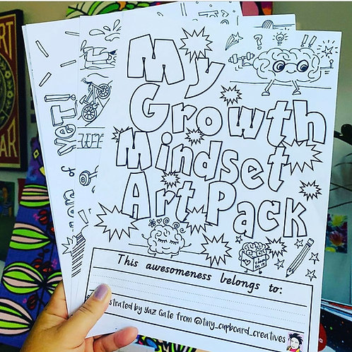 Growth Mindset Art Pack (Hard Copy)
