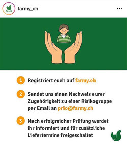 Online Delivery by Farmy.ch