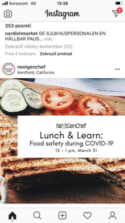 Food Safety during COVID-19
