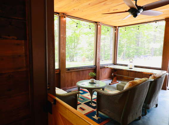 Sit & Enjoy overlooking the Squam Channel