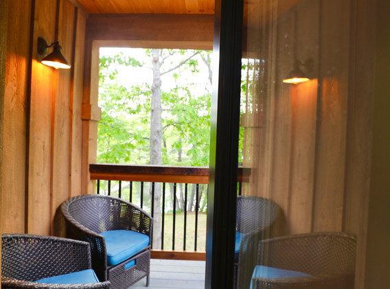 Screen Porch overlooking Squam Channel