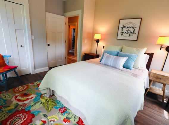 Queen Bedroom overlooking Channel and Little Squam