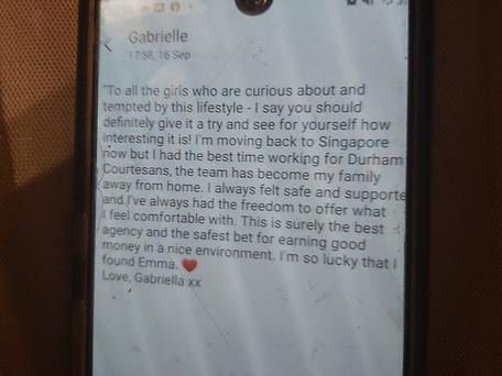 Thank u Gabriella!!!!