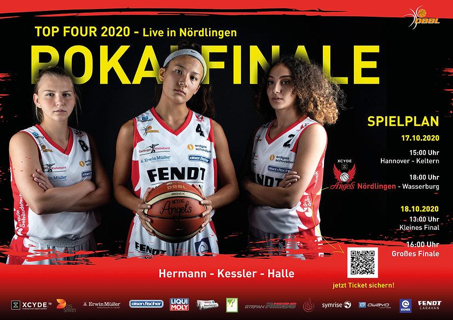 Poster Pokalfinale XCYDE Angels Nördlingen