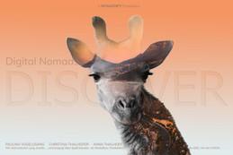 Grafik Design Giraffe Wildlife