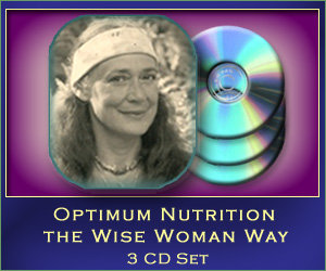 Optimum Nutrition the Wise Woman Way - 3 CD set