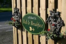 Barclay House B&B sign