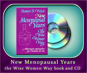 New Menopausal Years the Wise Women Way book and 2 CD set