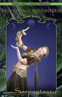 Belly Dance With Snakes DVD